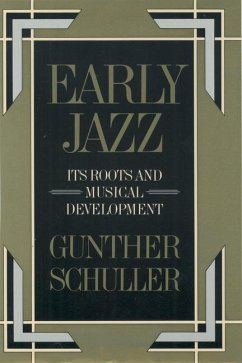 Early Jazz - Schuller, Gunther