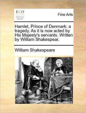 hamlet prince of denmark essay